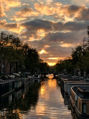 Amsterdam sunset (angheloflores) Tags: amsterdam sunset colors city travel architecture urban explore netherlands