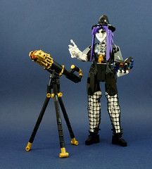 Sofeila, Coven Astrologer (Sergei Rahkmaninoff) Tags: moc lego human witch astrologer