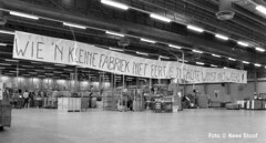 British American Tobacco-fabriek Amsterdam 1991 (k.stoof1) Tags: bat british american tobacco fabriek amsterdam demonstratie demonstration sluitting
