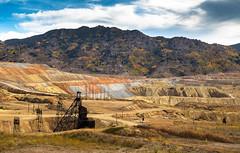 Hallowed Ground (ebhenders) Tags: granite mountain speculator mine memorial butte montana head frame berkley pit mining fall