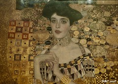 Copy of a print of The Woman in Gold - Neue Galerie (DRC - THANKS!! 3 Million Views) Tags: ladyingold neuegalerie nyc newyork art