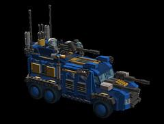 o1 6w suv ''Heavy'' (demitriusgaouette9991) Tags: lego military army ldd powerful deadly suv whitebackground