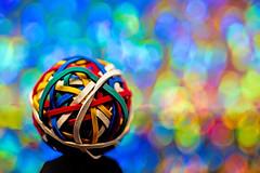 The Dreamy Rubber-bands (WilliamND4) Tags: sliderssunday hss bokeh meyeropticstrioplan100mm