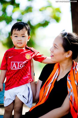 Family Photo shoot at Rod Fai Park