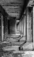 Endless hallways Just say goodbye and it's over for always (krossbow) Tags: maryland prince georges county fort washington park national service npsgov fowa battery humphreys endicott concrete unoccupied uninhabited empty abandoned vacant derelict ruins mold iphone 8