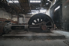 (jkatanowski) Tags: urbex urban exploration europe decay abandoned forgotten lost broken destroyed rust dust indoor industry industrial mine uwa pov wheel sony a7m2 steam romania irix 11mm