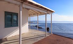 Corfu Island 0011 (A.S. Kevin N.V.M.M. Chung) Tags: corfu island greece sunnyday sunny sunshine sea ocean adria sky blue bluesky house coastal 夏 海 うみ 科孚島 希臘