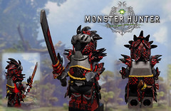 Rathalos_Armor (-Toy Designer & iacopo / Minifigures / Custom-) Tags: monster hunter world mhw minifgi custom lego customminifig ps4 dragon rathalos legiana sculpt scultura greenstuff toy design toys game gaming 2018 imc italy iacopo profeti minifig pittura painting armor set moc afol