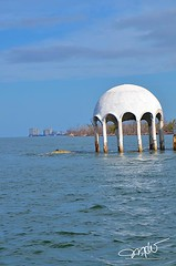 Cape Romano Dome Houses (Mike Woodfin) Tags: mikewoodfin mikewoodfinphotography photo picture photography photograph photos photoshop pretty park nikon nature fuji florida fl fishing canon contrast color crusty cool county creepy dome house domehouse caperomano naples gulf beach sand water reflection blue white blueandwhite marco gulfcoast awesome neat amazing deserted de decrepid decay delapidated defunct flooded southflorida collier colliercounty graffiti tag tagging