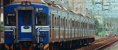1013_013 (solarliu) Tags: taiwan fog rainy rain trip journey damp blue train bus station snap people passerby