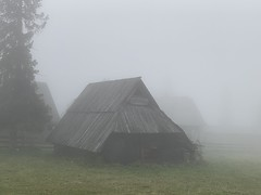 Sleepy hut (katebartnik) Tags: hut fog mountains tatra statepark poland gubalowka outdoors landscape nature