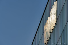 Catching reflections (tomaso.belloni) Tags: europe italy milan abstract architecture blue building city color colorful exterior facade house mac567 nobody outdoor outdoors pattern photography reflection sky urban window
