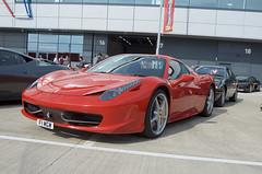 _DSC5038 (John McCulloch Fast Cars) Tags: f1mgw red ferrari 458