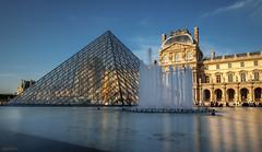 Pyramide (alouest225) Tags: alouest225 paris louvre pyramide longexposure france