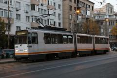 2018-10-11, Bucuresti, Gara de Nord (Bulvardul Gheorghe Duca) (Fototak) Tags: tram strassenbahn bucuresti romania v3a ligne46 303 stb