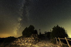 via Lactea Duraton (jcasas_10) Tags: milkway duraton sanfrutos night stars vialactea nocturna nikon d750 segovia hocesdelduraton cruz ermita