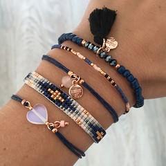 Royal Blue with Rosegold Bracelet Set (katalaynet) Tags: follow happy me fun photooftheday beautiful love friends
