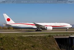 N511BJ (Joel@BSL) Tags: boeing b777 japan nippon boeing777 777 basel mulhouse euroairport eap bsl mlh