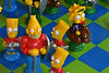 Thinking Mans Chess (Mr_Pudd) Tags: nikon nikond750 chess simpsonschess bartsimpson granddadsimpson maggiesimpson lisasimpson chesspiece chessboard