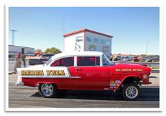 Rebel Yell (bogray) Tags: racecar dragracer nostalgiadragracing mokandragway smokinmokan asbury mo since1962 gasser 1955chevy trifive rebelyell americanhotrodreunion