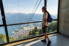 Lago Maggiore 2018  - Locarno/Cimetta (karlheinz klingbeil) Tags: seilbahn suisse cablecar swissalps schweiz alps people switzerland menschen alpen locarno tessin ch