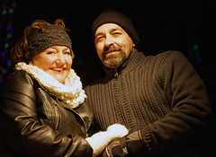 These two....Love (Wil James) Tags: elements sonyilca99m2 winter christmas ontario canada simcoe lights snow