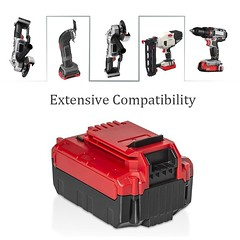 Surepp 20V 5.0Ah High Capacity Li-ion Tools Battery Compatible with Porter Cable PCC685L PCC682L PCC680L (1 pack) 2 (gardenley) Tags: drill tool handtool powertool picture foto photography photo photos flickr