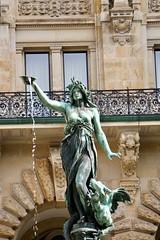 Hygieia Fountain (janelmoore) Tags: sonya6300 janelmoore hygieia cityhall hamburg germany hygieiafountain