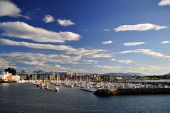 Bodø (charlottehbest) Tags: charlottehbest 2017 september norway scandinavia honeymoon travel theadventuresofhenryjruffington roadtrip nikon nikond5000 bodo ferry