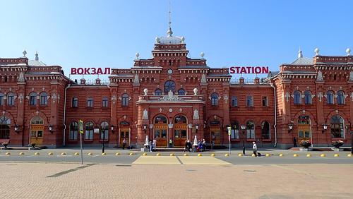 Russian trains ©  The Chuvash people of Krasnoyarsk region