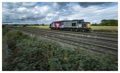 The Vain Train. (-Metal-M1KE-) Tags: rog railoperationsgroup europhoenix 37800 0m59 rugeley rugeleytrentvalley ee englishelectric 12csvt funkychicken pan panning railwaypan