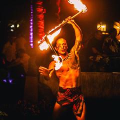 Night on Fire (Thomas Hawk) Tags: america finnestate hawaii makena maui turtlepointestate usa unitedstates unitedstatesofamerica wailea waileaelua fire firedancer firedancing kihei us fav10 fav25 fav50