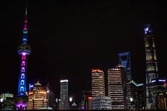 Shanghai Skyscraper (pasqualefrieri) Tags: shanghai skyline skyscraper bund pudong china new