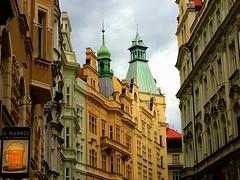 Prague | Czech Republic (maryduniants) Tags: rooftop roof architecture europe colors beer buildings prag praga praha prague czechrepublic