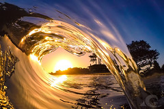Glass & Light (decompreSEAN) Tags: waveporn gopro shorebreak wave ocean sand sun beach surf sunrise saltwatercures