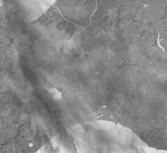Hokkaido's Ishikari Plain, 15 September 2018, variant (sjrankin) Tags: 15september2018 22september2018 edited esa europeanspaceagency sentinel2 japan hokkaido l1ct54tvma00796520180915t012646 l1ct54tvna00796520180915t012646 l1ct54twna00796520180915t012646 sapporo clouds pacificocean seaofjapan grayscale panorama ishikariplain tomakomai eniwa chitose iwamizawa yubari mikasa kuriyama yuni nanporo lakeshikotsu ishikaririver