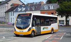 Edwards Brothers MX13BCE (Southern England Bus Scene) Tags: haverfordwest pembrokeshire edwards mx13bce