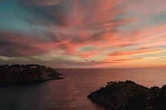 Porroig Sunset (Miguel Martin Ibiza) Tags: sunset nikon beach beachscape landscape clouds sky skyporn redsky d5100