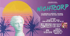 Doing a Vaporwave / Futurefunk FREE party in Norfolk, Virginia this Friday! Giving away a free Vinyl copy of 'Floral Shoppe' to best dressed! Old school video games, and giving away bottles of Dasani to the first 50 in the door :) See you there? (MOONFLUX) Tags: vaporwave retro art design vapor aesthetics aesthetic vhs cassete digital internet