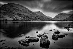 Hartsop Dodd (Hugh Stanton) Tags: shoreline rocks mountains tarn