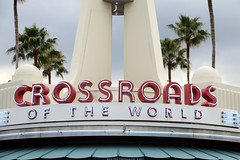 Crossroads of the World (Rick & Bart) Tags: waltdisneyworldresort disneyworld disney rickvink canon eos70d orlando florida usa rickbart disneyshollywoodstudios crossroadsoftheworld sign
