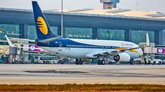 Jet Airways Boeing B737-800 VT-JFL Bangalore (BLR/VOBL) (Aiel) Tags: jetairways boeing b737 b737800 vtjfl bangalore bengaluru canon60d tamron70300vc
