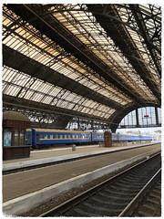 Lviv railway station (antianki) Tags: lviv lvov ukraina tåg train railwaystation trainstation