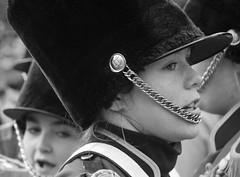 DSC_7136_ep_gs (Eric.Parker) Tags: santaclausparade santa claus parade toronto 2017 marching band uniform school costume instrument music drums november bloor christie military float disney sousaphone musicalinstrument bell christmas bw