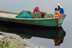 Wooden Ferry, Uttar Pradesh India (AdamCohn) Tags: adamcohn india mathura vrindavan boat ferry harvest holi river wwwadamcohncom dautana uttarpradesh