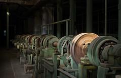Die alte Papierfabrik (3) (david_drei) Tags: industry papierfabrik lostplace decay abandoned urbex urbanexplorer rad zahnrad licht
