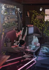 ░Protego Totalum░ (ミカセモカー) Tags: wednesday ~ pink devil gacha epiphany 22 drd ae train car 2 seat coach bench left 12 plush armchair 21 4 commuter 11 sofa 23 newspaper rack coat 17 tulip shade wall lamp arctic express end rare c7{maru kado} my hideoutpalette shelf 3li c4{maru hideoutdesk dark1li always baby mandrake common potions book wands flying broom snake knowledge letters witch vanity open all ddd creeping vine wide