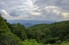 Blue Ridge Parkway - South End 2 (rschnaible) Tags: blue ridge mountains parkway north carolina the south landscape woods forest