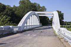 Rainbow Bridge on Route 66 in Kansas III (eoscatchlight) Tags: rainbowbridge marsharchbridge bridge route66 roadsideamerica themotherroad fadingamerica brushcreek kansas inexplore