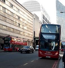Rare: Arriva London South T93 593CLT | 2 to West Norwood (Unorm001) Tags: lj59 lzo lj59lzo 593clt 593 clt 2 t 93 t93 enviro400 enviro 400 red london double deck decks decker deckers buses bus routes route diesel